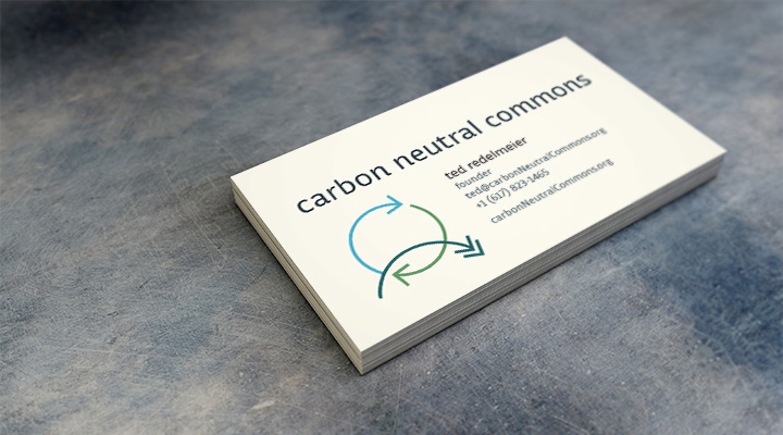 99 monsters design carbon neutral commons identity and illustrations carbon neutral commons business card colourmoves