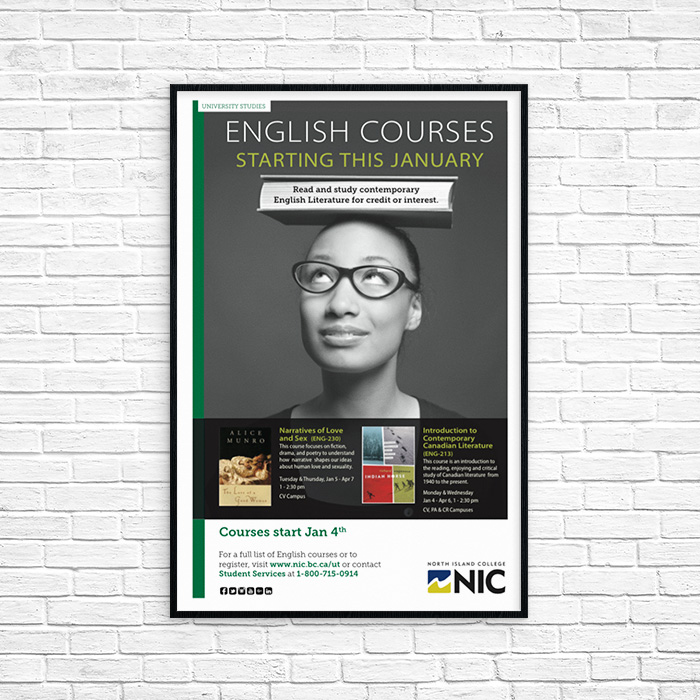 English Courses at NIC