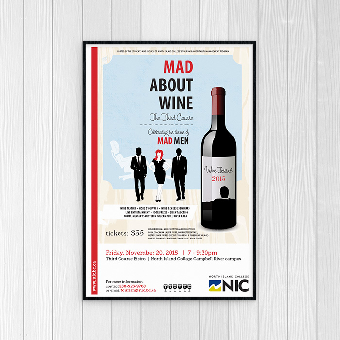 Mad About Wine Promo Poster