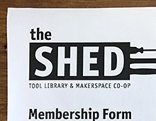 The SHED Tool Library Comox Valley